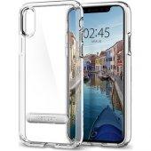 Spigen Apple İphone X Kılıf Ultra Hybrid S Crystal Clear 057cs2