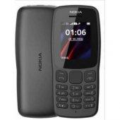Nokia 112 Dual Sim Siyah Tuşlu Cep Telefonu(İthalatçı Garantili)