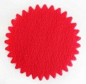 Organze Fileli Yuvarlak Kırmızı 22cm Pk 100 Adet