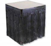 Masa Kenarı Eteği Fonsüs Metalize Yerli Siyah 1...