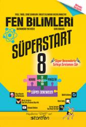 STARTFEN 8.SINIF FEN BİLİMLERİ SÜPERSTAR SERİSİ SORU BANKASI