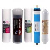 Ihlas Su Arıtma Cihazı Filtresi İhlas 5 Li Filtre Seti Ekonomik Vontron Membranlı