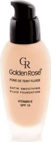 Golden Rose Satin Smoothing Fluid Foundation Fondöten 29