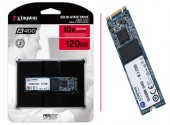 120GB  Kingston A400 M.2 2280 500MB-320MB/s Sata3 SSD (SA400M8/120G)