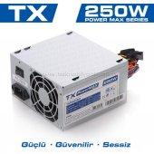 Tx Powermax 250w 2xsata, 2xıde Bilgisayar Güç...