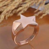 925 Ayar Gümüş Yıldız Tasarım Yüzük-2