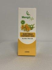 Mengü şifa%100 Aloe veralı Kantaron yağı 50ml-3