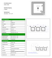 TH54 WRW HF 13.56Mhz RFID Etiket (100 Adet)-2
