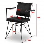 Penyez Tel Mutfak Sandalyesi-3
