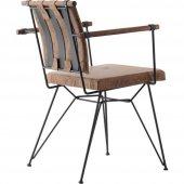 Penyez Tel Mutfak Sandalyesi-5