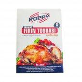 Poppy Yanmaz Fırın Torbası 8li X 48 Paket 384lü...