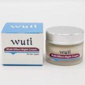 Wutı Multi Effect Night Cream (Yoğun Etkili Gece Bakım Kremi)