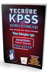 2020 KPSS GY-GK Tecrübe Dijital Çözümlü Soru Bankası Pelikan Yayınları