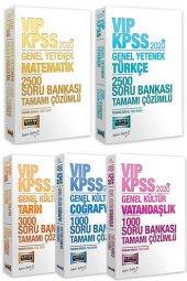 Yargı 2020 KPSS VIP Genel Yetenek Genel Kültür 10000 Soru Bankası 5 li Set Çözümlü Yargı Yayınları