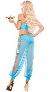 Merry See Mavi Şık Dansöz Elbisesi Kostümü-2