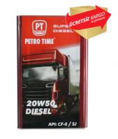 Petro Time Turbo 20w50 14 Kg 16 Litre Motor Yağı