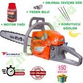 Zomax Zm5410 Motorlu Testere 50 Cm Pala + Full Paket Set 2 Yıl Garantili Faturalı