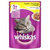 Whiskas Pocuh Tavuklu Kedi Maması 100 Gr