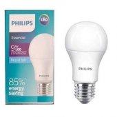 Philips Essential 9 Watt LED Ampul (14w-60w)- Beyaz Işık-3