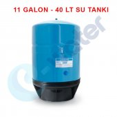 Su Arıtma Cihazı Çelik Su Tankı - Tankpro 11 Galon 40 TL Su Arıtma Deposu-2