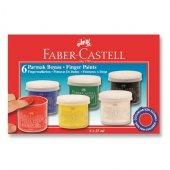 Faber Castell 6 Lı Parmak Boyası