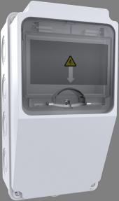 Bemis Kombinasyon Kutusu V Otomat Raylı 1 Klemensli (120x255x122)