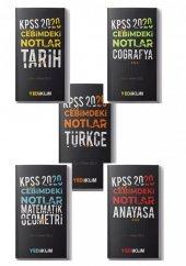 Yediiklim Yayınları KPSS 2020 Cebimdeki Notlar GK-GY Set(5 Kitap)