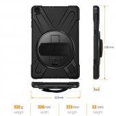 Apple iPad 2 3 4 Kılıf Zore Defender Tablet Silikon-6