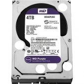 """WD Purple 4TB 3,5""""  64MB 7/24 Güvenlik Diski WD40PURZ"""