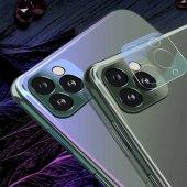 Apple iPhone 11 Pro Max Zore 3D Full Kamera Koruyucu-5