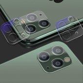 Apple iPhone 11 Pro Max Zore 3D Full Kamera Koruyucu-6