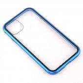 Apple iPhone 11 Zore Devrim Mıknatıslı Cam Kapak