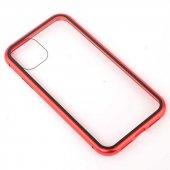 Apple iPhone 11 Zore Devrim Mıknatıslı Cam Kapak-9