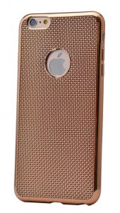 Apple iPhone 5 Kılıf Zore Hasırlı Silikon