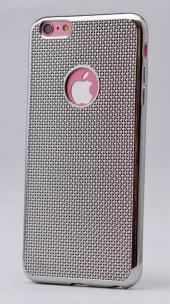Apple iPhone 5 Kılıf Zore Hasırlı Silikon-8