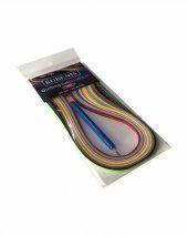 7801 Quilling Kağıdı 39 Cm 16 Renk 120 Li