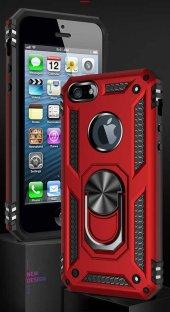 Apple iPhone 5 Kılıf Zore Vega Silikon-11