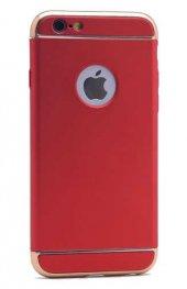 Apple iPhone 6 Kılıf Zore 3 Parçalı Rubber Kapak-7