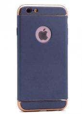 Apple iPhone 6 Kılıf Zore 3 Parçalı Rubber Kapak-9