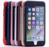 Apple iPhone 6 Kılıf Zore 360 Delikli Rubber-8