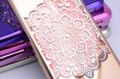 Apple iPhone 6 Kılıf Zore Lazer Çiçekli Sıvılı Silikon-2