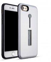 Apple iPhone 6 Kılıf Zore Olive Standlı Kapak
