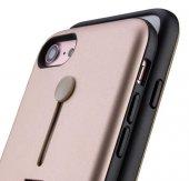 Apple iPhone 6 Kılıf Zore Olive Standlı Kapak-2