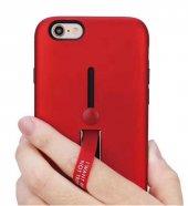 Apple iPhone 6 Kılıf Zore Olive Standlı Kapak-4