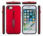 Apple iPhone 6 Kılıf Zore Olive Standlı Kapak-9