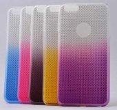 Apple iPhone 6 Kılıf Zore Renkli Elegance Silikon-4