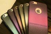 Apple iPhone 6 Kılıf Zore Renkli Matrix Silikon-2