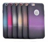 Apple iPhone 6 Kılıf Zore Renkli Matrix Silikon-3