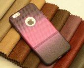 Apple iPhone 6 Kılıf Zore Renkli Matrix Silikon-5