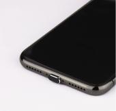 Apple Iphone Ios Şarj Girişi Anti Toz Önleyici Toza Ve Suya Karşı Koruma Siyah